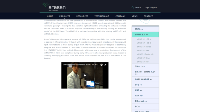arasan-product-video
